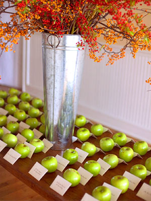 Fun fall wedding ideas jules wedding ideas for Autumn wedding decoration ideas